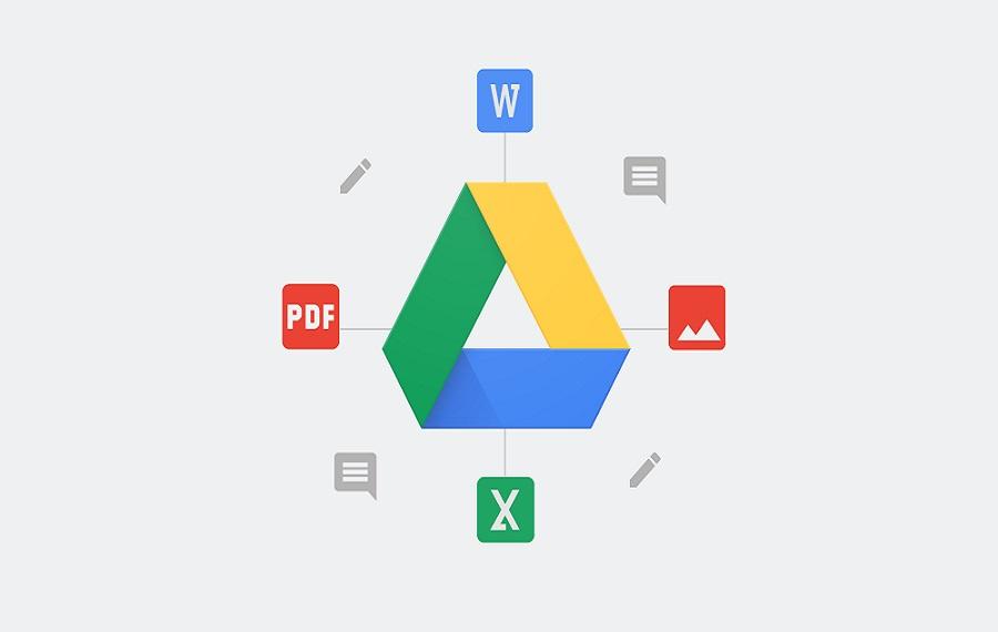 Google disk, online