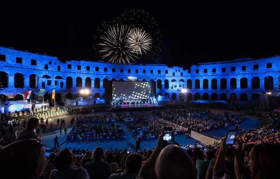 Arena, Pula Film Festival, srpanj, film pod zvijezdama, otvorenje