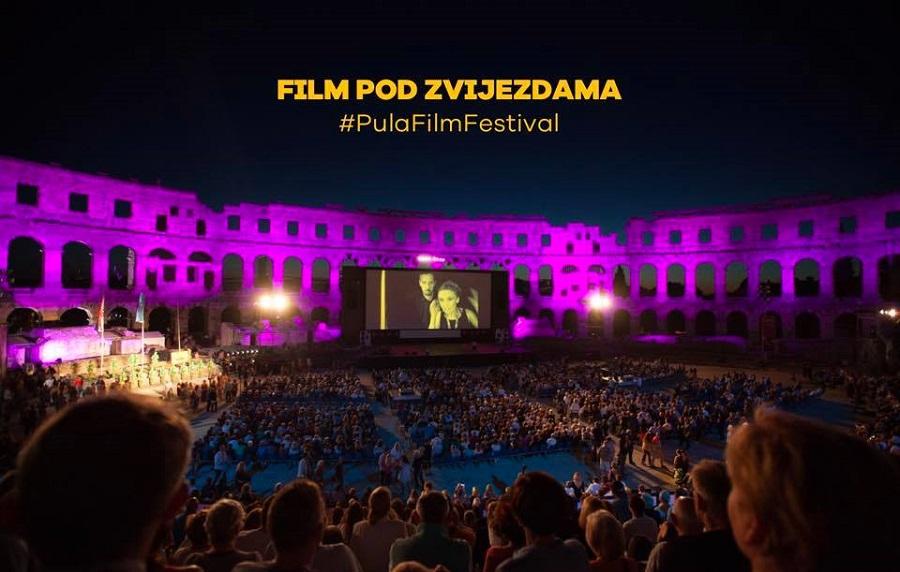 Pula Film Festival, Arena, program, lokacije