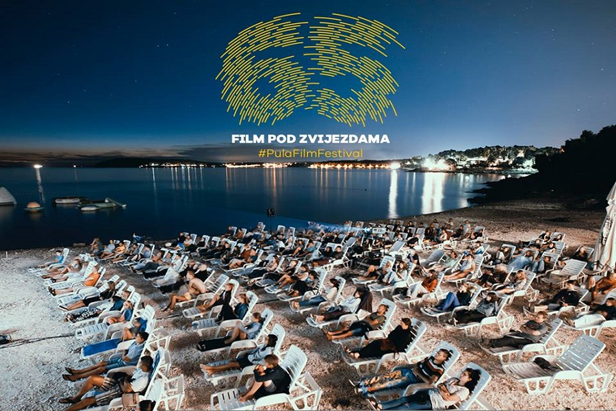 Pula Film Festival, Kino uz more, Ambrela