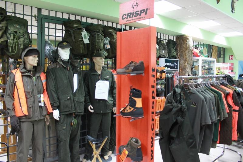 Ritoša trgovine, Poreč, sve za lov, lovačka obuća