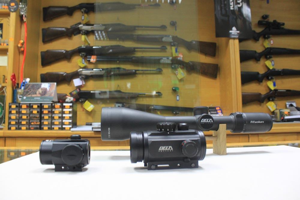 Ritoša trgovine, Poreč, sve za lov, lovačka oprema