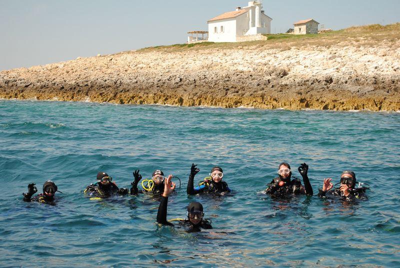 Scuba Libre, ronilački izleti, Premantura
