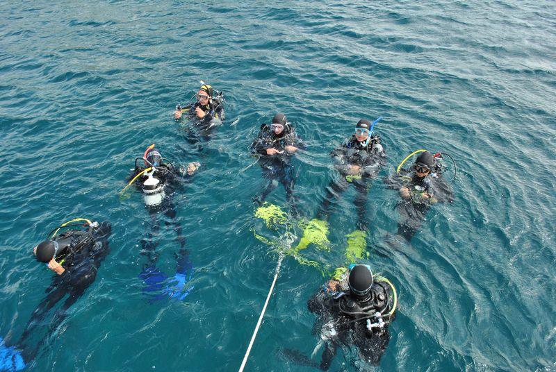 Scuba Libre, Premantura, tečaj ronjenja