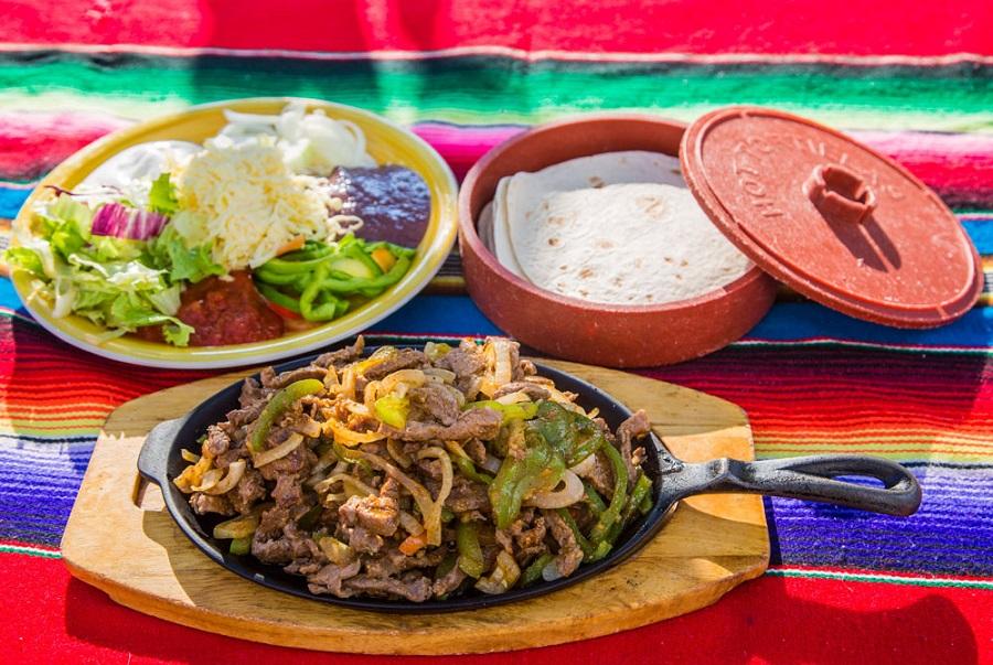 Meksički restoran El Pulari Parasol, Pula, fajita