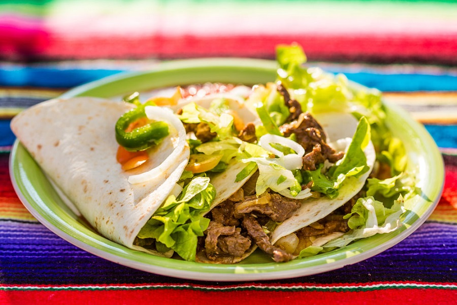 Meksički restoran El Pulari Parasol, Pula, quesadilla
