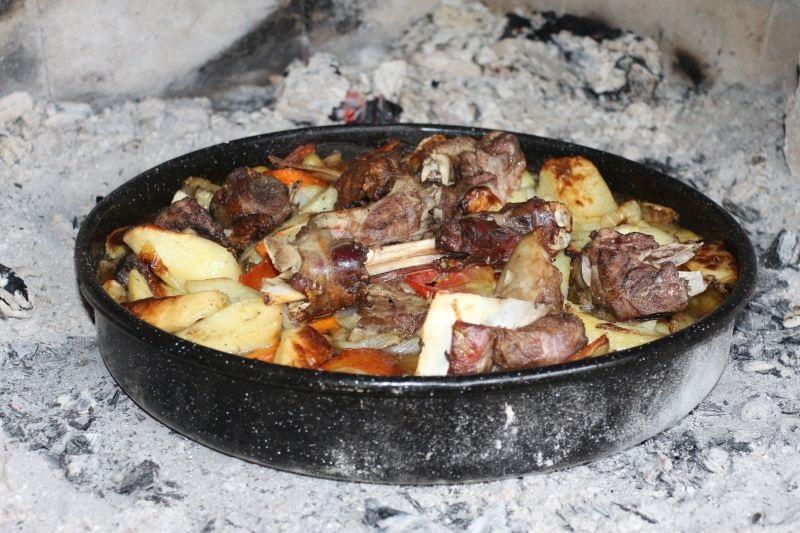 onoba Kaminada, Ližnjan, domaća istarska jela