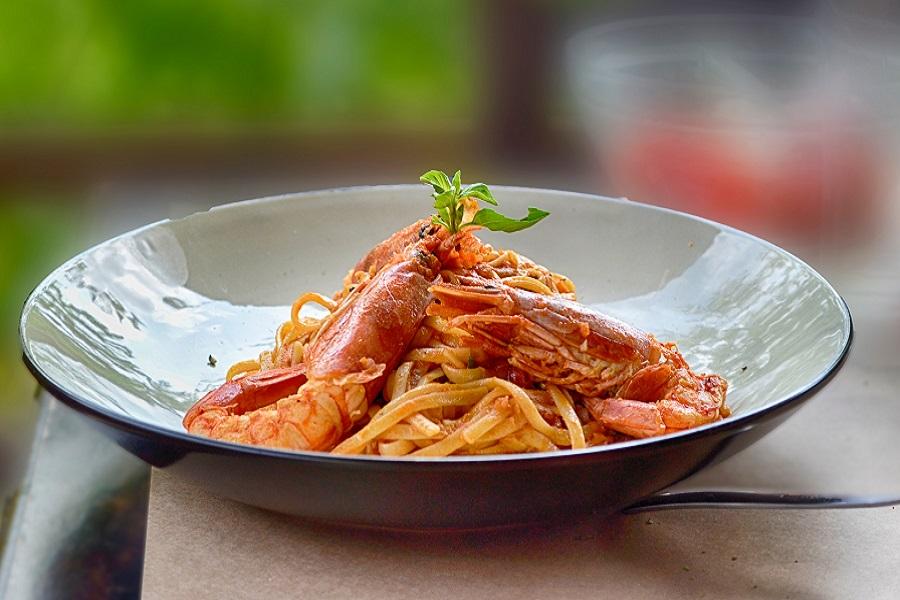 restoran-konoba Nando, Trget, Istra, kvarnerski škampi