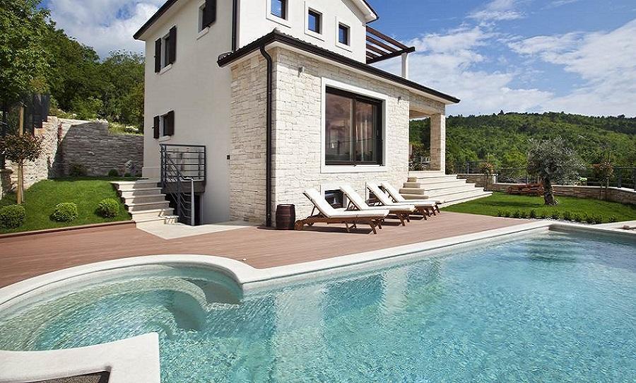 Ro-La Transkop, Labin, mozaik pločice, bazeni, održavanje