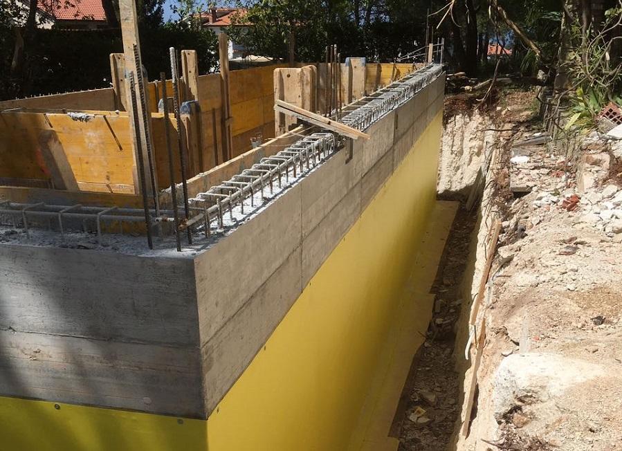 Hidroizolacija nadtemelja i temelja, podruma, Istra