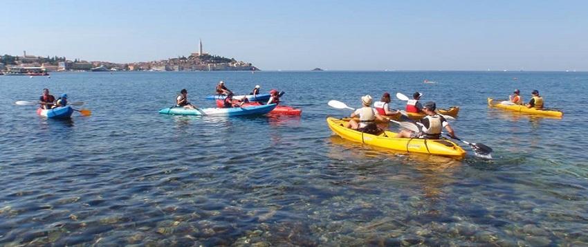 Kayak tours Rovinj