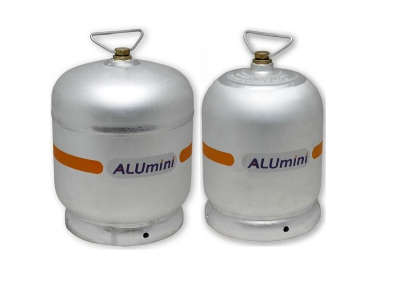 Aluminijske boce, plin, Pula