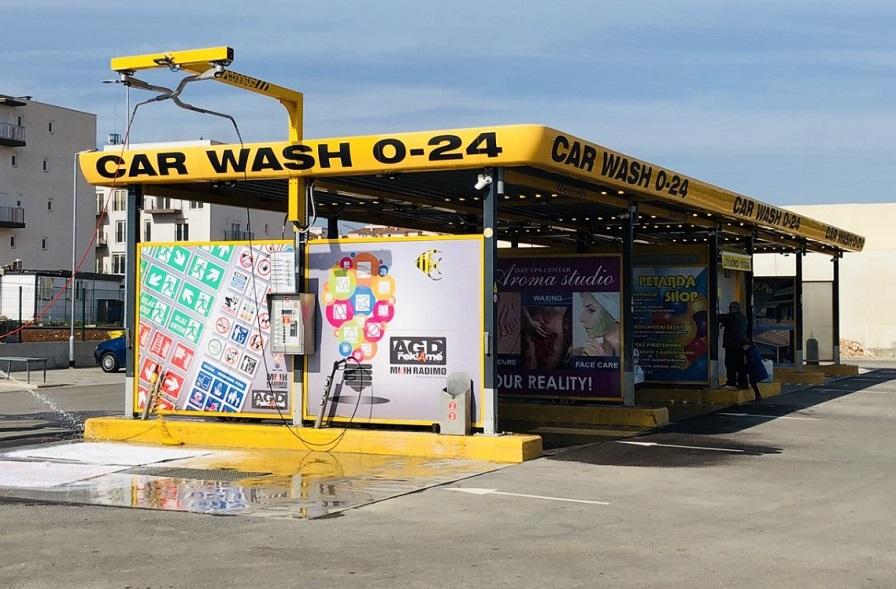 Autopraona Pula, pranje auta