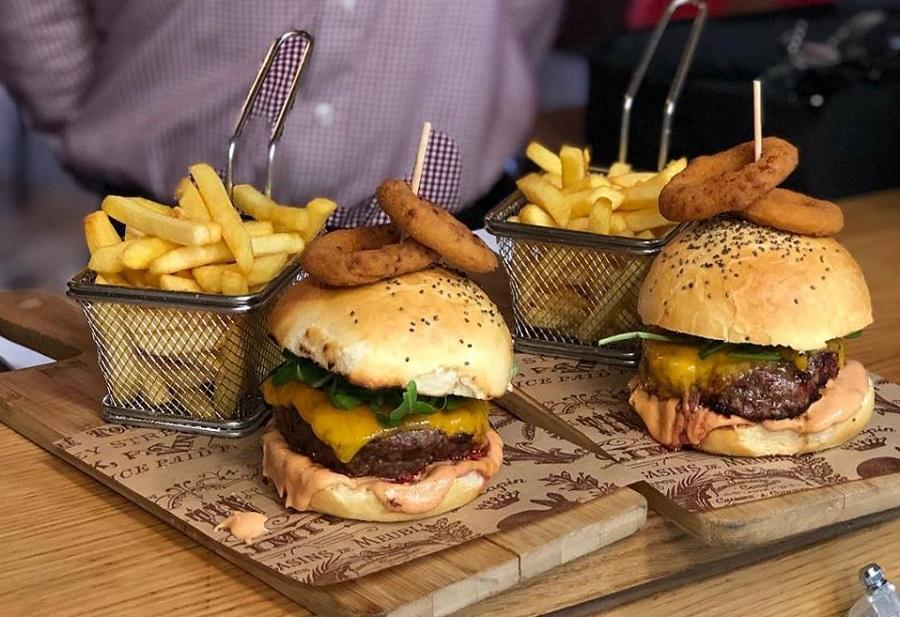 Hamburger, meso boškarina, Poreč