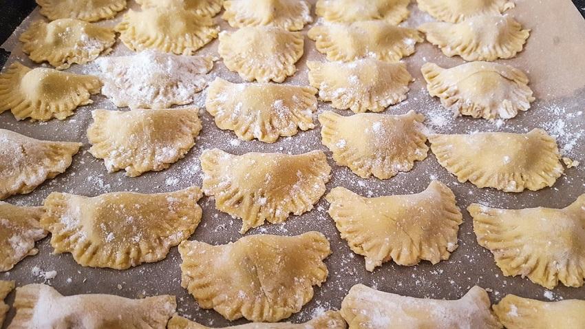 Homemade pasta, Liznjan, restaurant