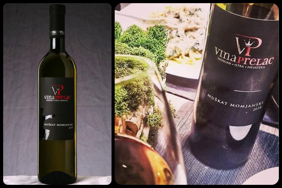 Mupkat momjanski, vino, Istra