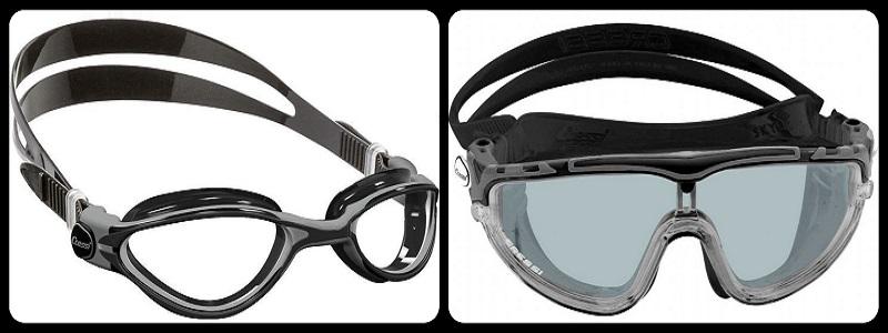 Naočale i maske za plivanje, oprema za plivanje