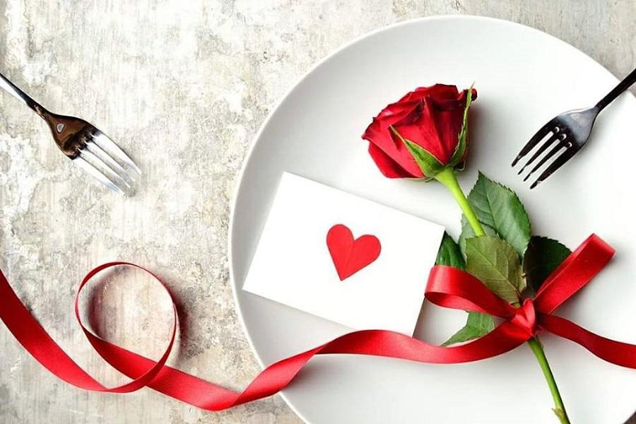 romanična večera za dvoje