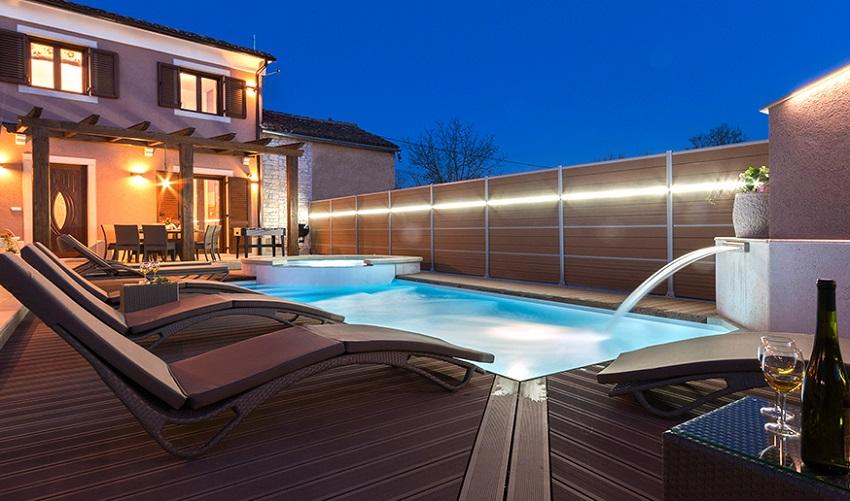 Elektroinstalacije, rasvjeta bazena, kuća za odmor