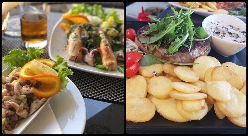 Riblja jela, mesna jela, restoran, Pula