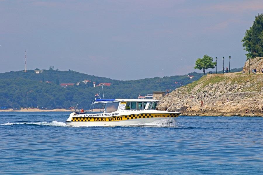 Taxi boat Rovinj, rent a boat
