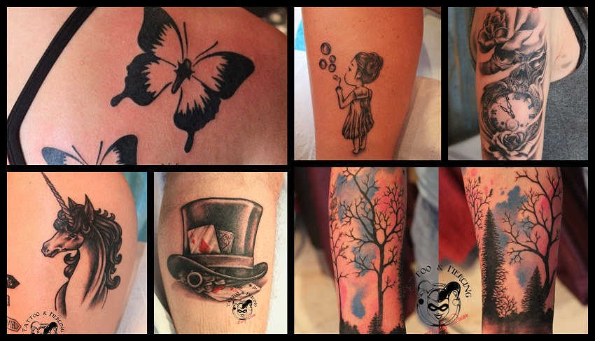 Tattoo studio, Umag, održavanje tetovaže ljeti