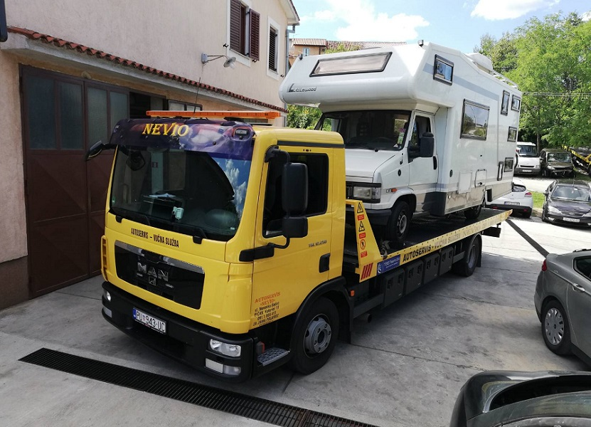 Towing service Istria