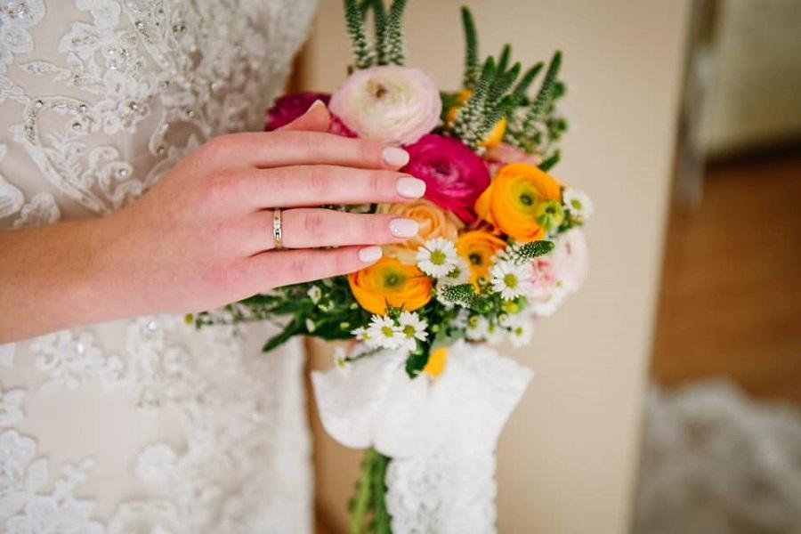 Vjenčani buket, cvjećarna Pazin, Poreč