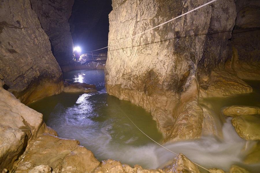 Zip line Pazinska jama, aktivni odmor u Istri