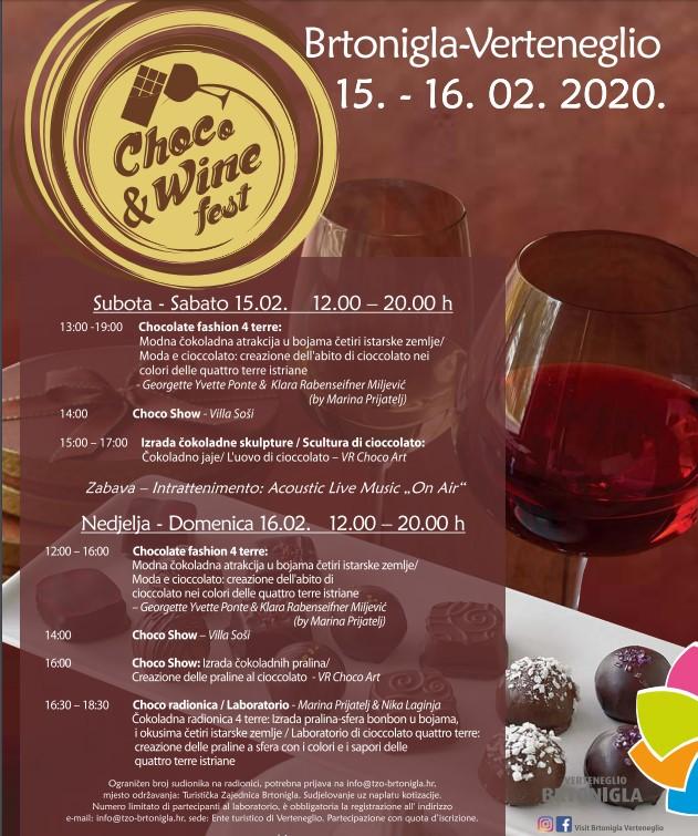 Choco & Wine fest 2020., Brtonigla