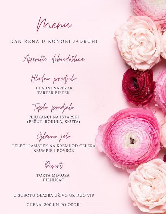 Dan žena 2020, restorani Istra