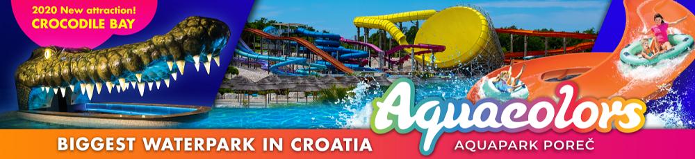 Aqua park Porec Istria