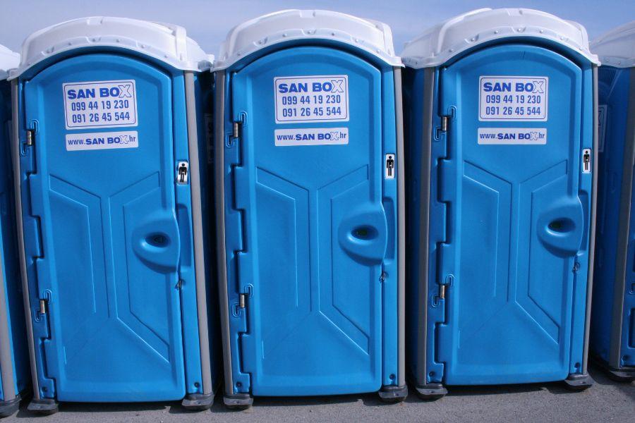 Najam wc kabina Istra