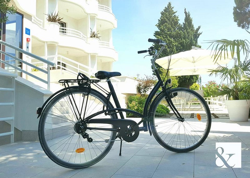 Hotel Residence Rovinj&, rent a bike