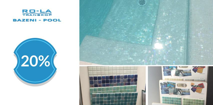 20% popusta na materijal za bazene - RO-LA TRANSKOP