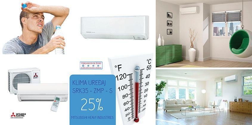Klima uređaj - 25% popusta - FRIGOSERVIS ŠIME