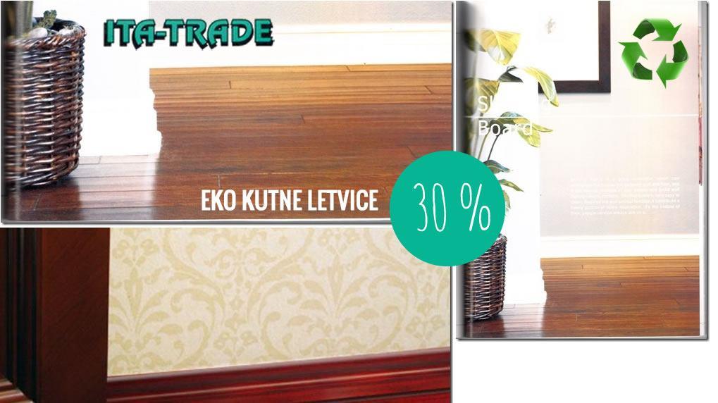ITA TRADE - 30% na eko kutne letvice