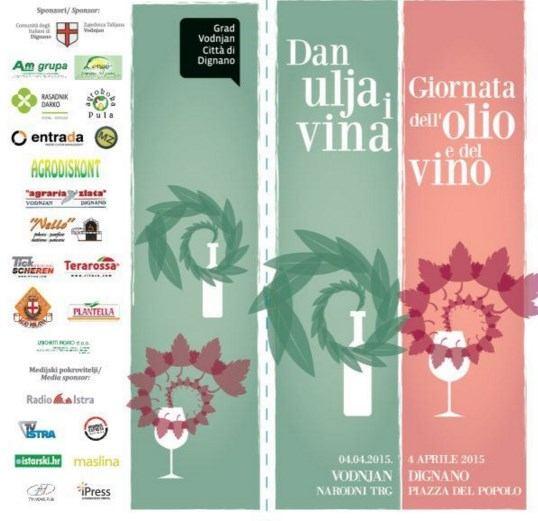 Manifestacija:  Dan ulja i vina