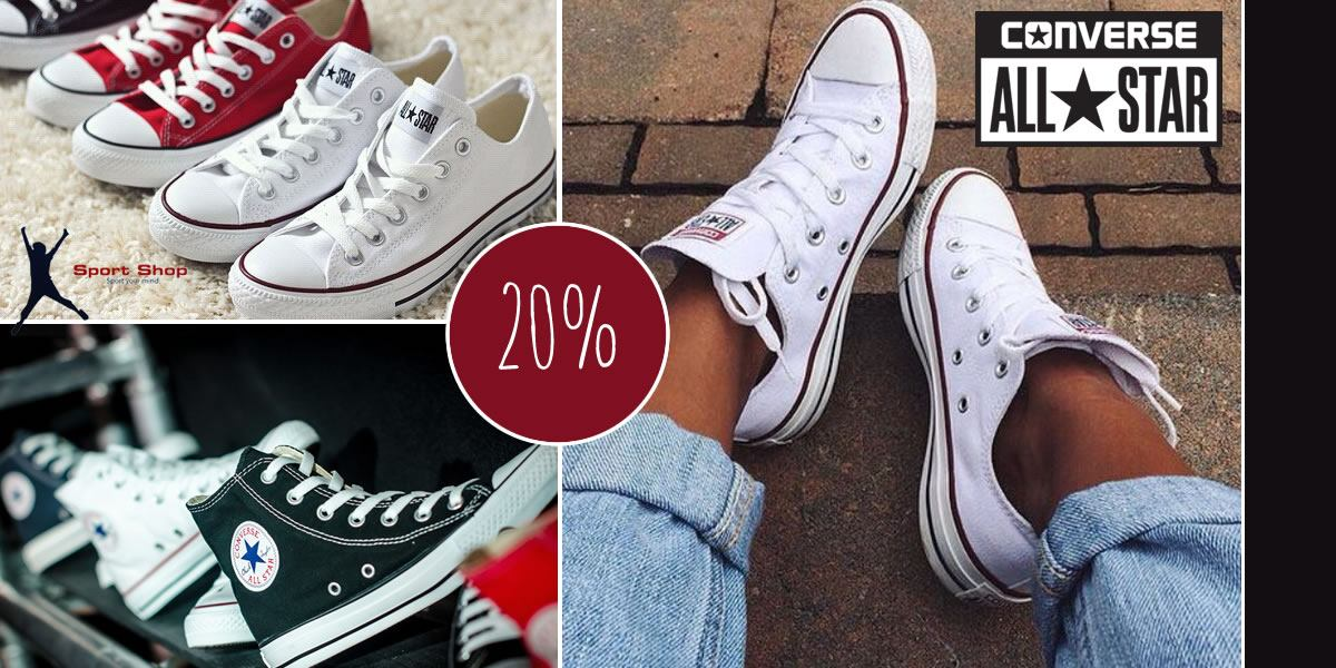 ALL STAR CONVERSE - 20% popusta - Jelen Sport Shop Umag