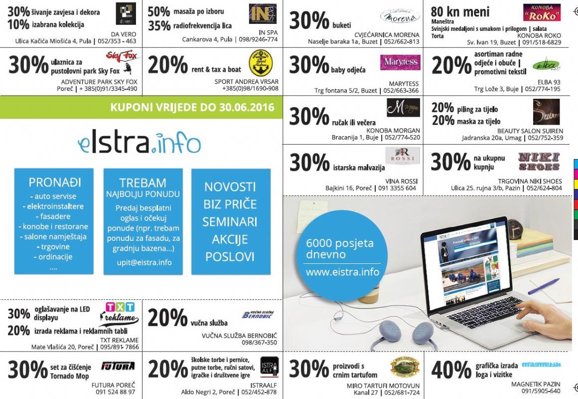 EIstra.info kuponi s popustima: Jeste li već pronašli svoj kupon?
