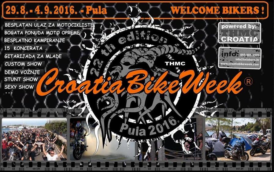 Počinje Croatia Bike Week