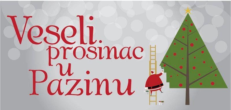 Poziv za dostavu programa za brošuru  Veseli prosinac u Pazinu