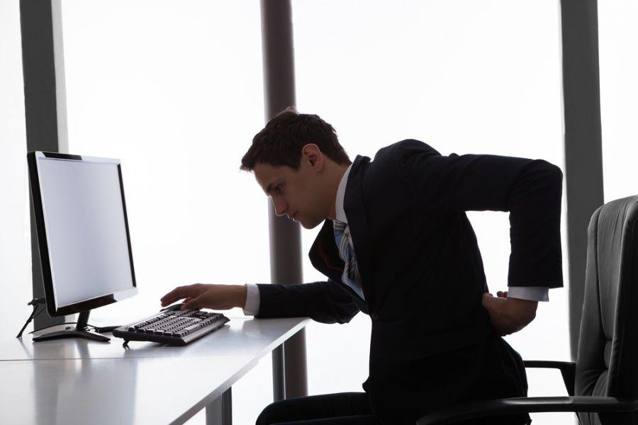 Negativne posljedice sjedenja u uredu možete ublažiti ustajanjem svakih pola sata