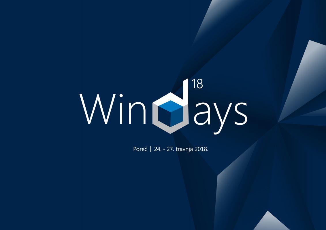 WinDays18 konferencija održat će se od 24. do 28. travnja 2018. u Poreču