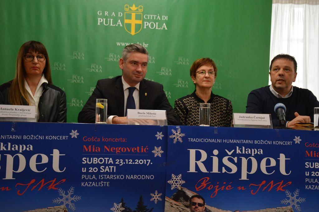 "Tradicionalni ""Božić u INK"" u Pulu dovodi klapu Rišpet i Miu Negovetić"