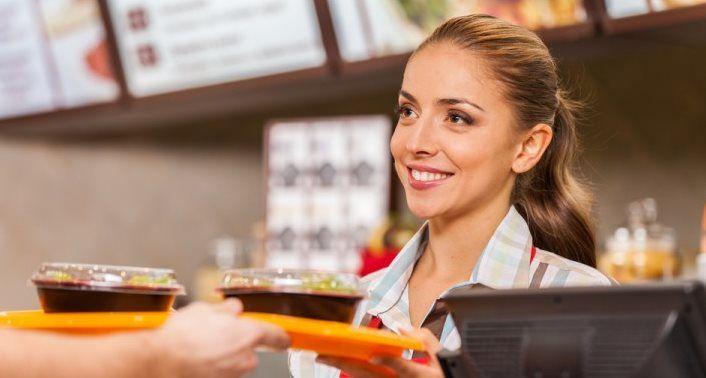 Konobar u fast foodu (m/ž)