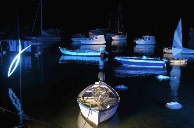 Rapsodija u plavom na fažanskoj rivi