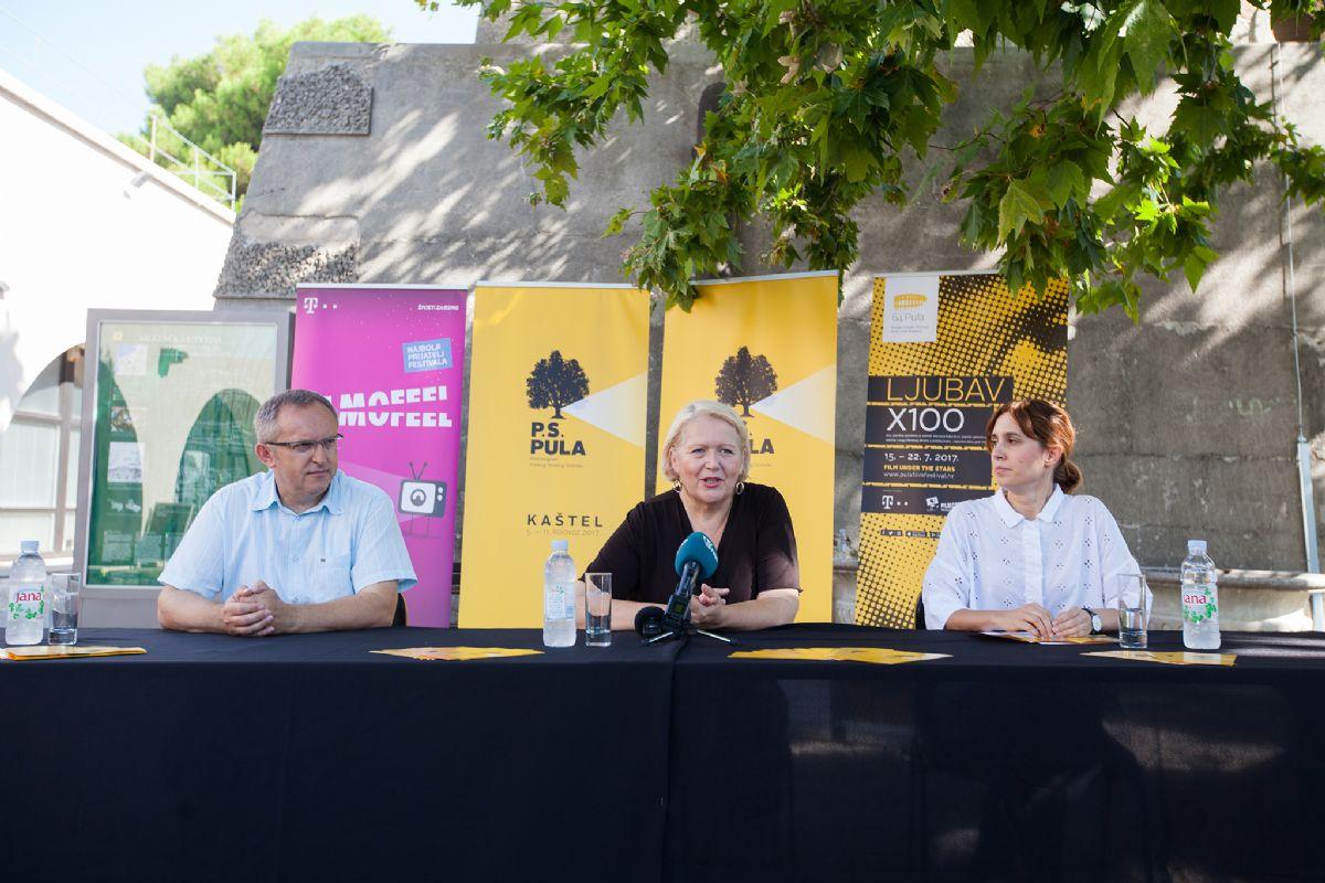 Završnica Pula Film Festivala na Kaštelu