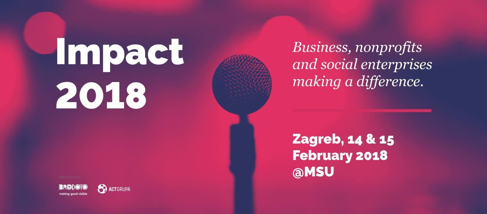 Konferencija  Impact 2018  u Zagrebu