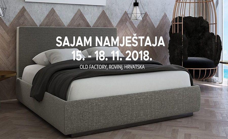 1. međunarodni sajam namještaja u Rovinju od 15. do 18.11.2018.